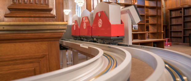 NYPL's Iconic Public Library Now Has a $2.6 Million Book Train (video) Libraries