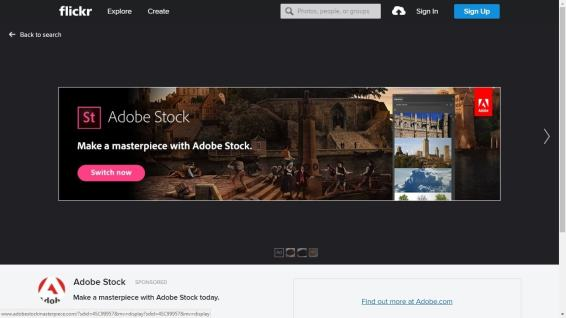 Flickr Breaks Browsing Experience - Injects Ads Into Search, Photostream Advertising