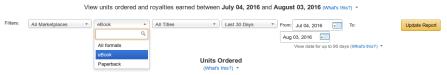 KDP Print - Amazon is Beta-Testing a Combined Kindle and POD Dashboard Kindle (platform) POD