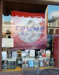 Bookseller Protests Trump - He Won't Be the Last Bookstore