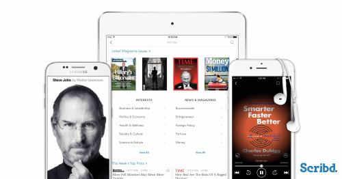 Updated: Scribd App Update Reveals Return of Unlimited(*) Reading Streaming eBooks