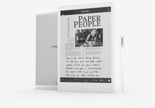 """Three Videos Showing 10.3"""" Remarkable E-ink Writing Slate Released e-Reading Hardware"""