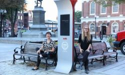 Soofa Deploys Solar-Powered E-ink Signs in Boston e-Reading Hardware