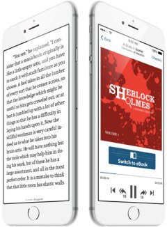 Duobook Lets Readers Listen to an Audiobook Exactly Where They Stopped Reading, or Vice Versa Audiobook e-Reading Software Enhanced eBook