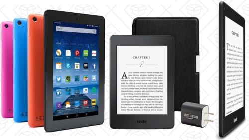Fire Tablet, Kindle on Sale for Mother's Day e-Reading Hardware Fire Kindle
