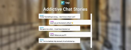Wattpad Launches Chat-Style Reading App Tap e-Reading Software Social reading