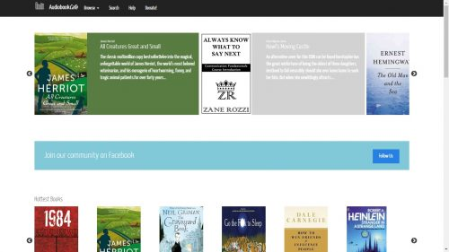 New Pirate Site Focuses on Audiobooks Intellectual Property