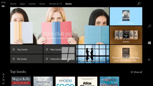 Windows 10 Creators Update to Feature eBookstore in Edge Web Browser Uncategorized