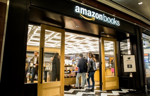 Amazon Opens a Manhattan Bookstore: a Round-Up Amazon Bookstore Link Post
