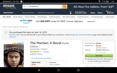 "Amazon is Beta-Testing the Label ""Digital Books"" Amazon"