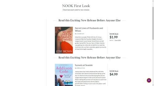 """B&N Now Pitching """"Nook First Look"""" Promo Service to Indie Authors Barnes & Noble"""