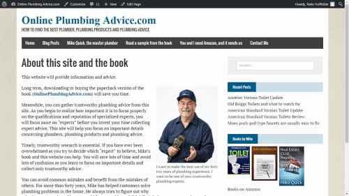 OnlinePlumbingAdvice.com Uncategorized