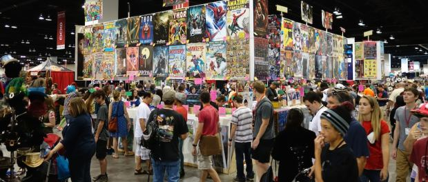 Were Authors Treated Like the Red-Headed Step-Child at Denver Comic Con? Conferences & Trade shows