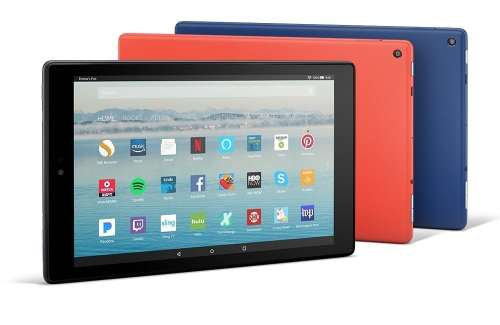 Amazon Updates the Fire HD 10 Tablet with a Lower Price and a 1080p Display e-Reading Hardware Fire