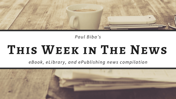 Paul Biba's eBook, eLibrary, eMuseum and ePublishing news compilation for week ending Friday, January 5 Link Post Morning Coffee