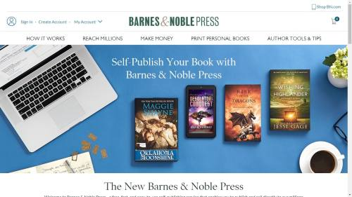 B&N Press Now Offers Print Pre-Orders, ARC Sales Barnes & Noble POD Self-Pub