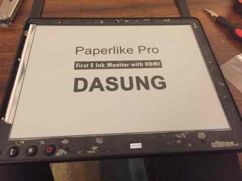Tearing Down a $1000 E-ink Monitor e-Reading Hardware