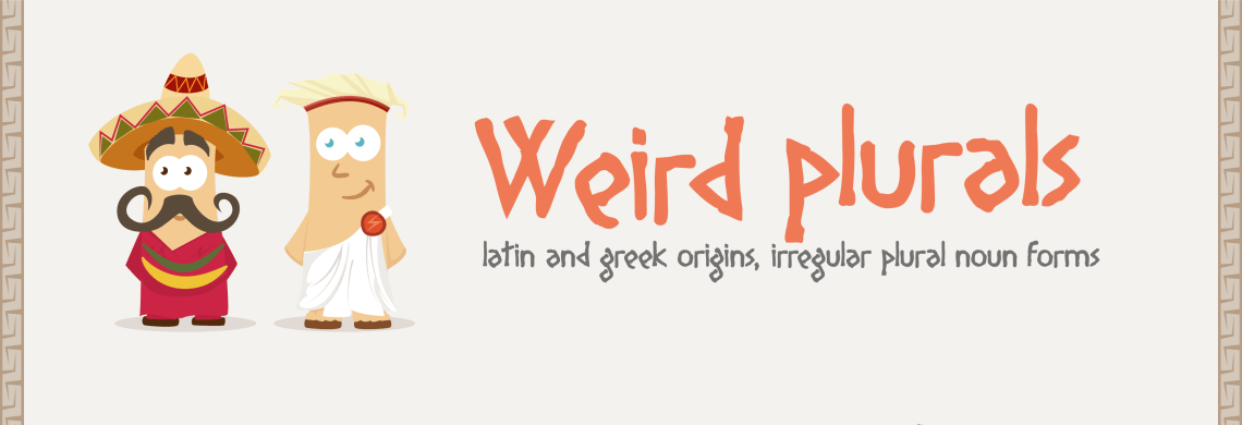 Infographic: Weird Plurals Infographic Language