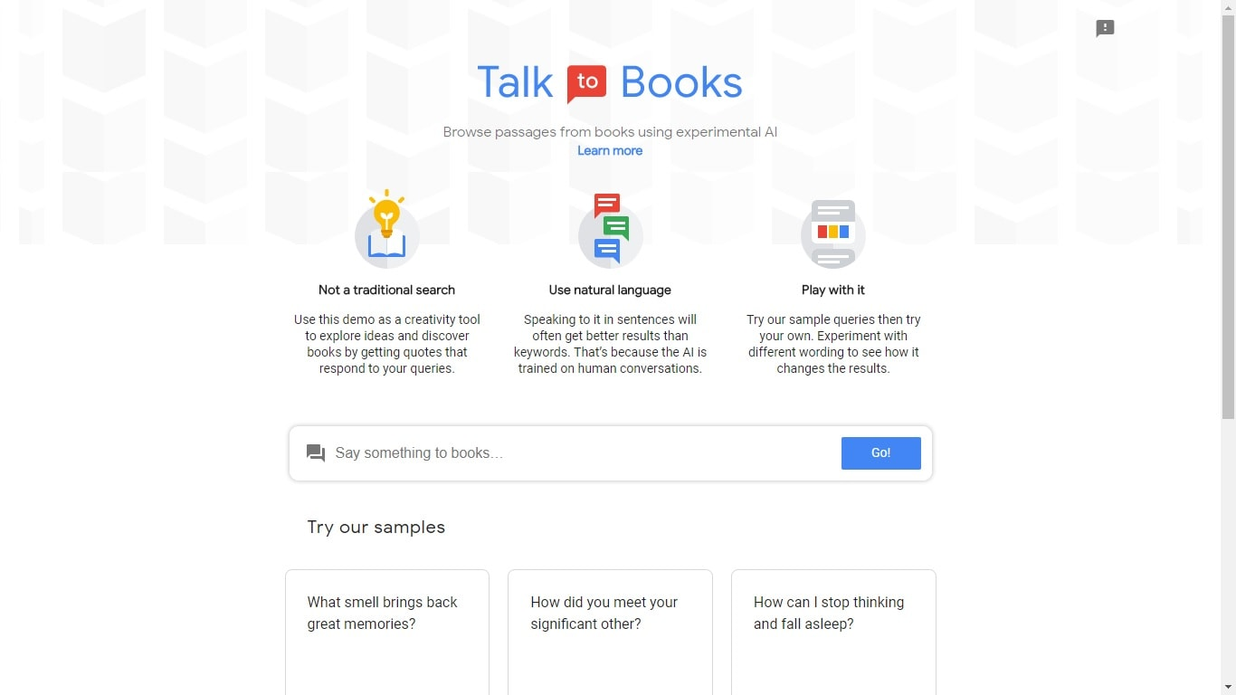 """With """"Talk to Books"""", Google Wants to Replace English Lit Professors"""