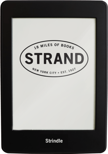 Strand Bookstore Launches Its First eReader, the Strindle e-Reading Hardware