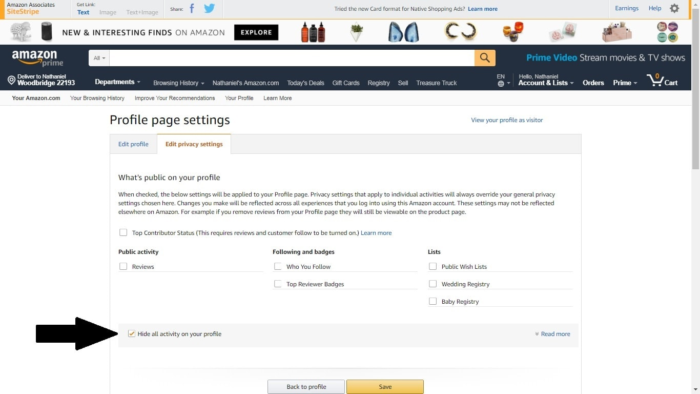 Six Default Amazon Security Settings You Can Change for More