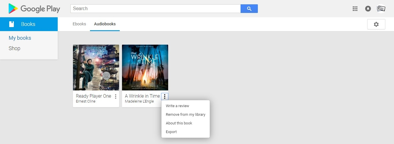 Google Play Books Ebook