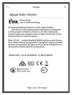 Kobo's Next eReader Clears the FCC e-Reading Hardware