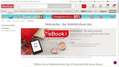 Germany's Weltbild Launches an eBook Subscription, Also Reminds Us Why Amazon is Winning the Book Market eBookstore Streaming eBooks