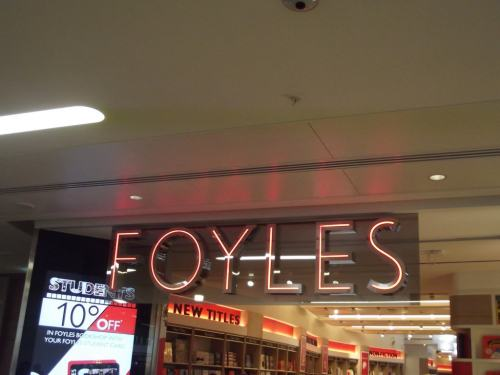 Waterstones is Buying Foyles Bookstore