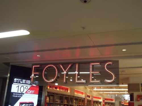 Waterstones is Buying Foyles Bookstore
