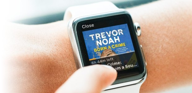 The Audible App Arrives on Apple's Apple Watch Audiobook e-Reading Software