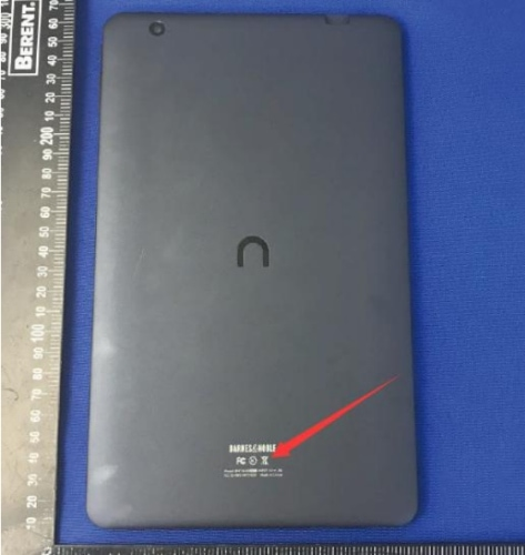 Ten-Inch B&N Nook Tablet Clears the FCC e-Reading Hardware