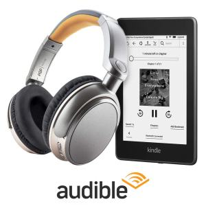 Kindle Paperwhite Audible Bundle Includes $79 Headphones, $129 Kindle Paperwhite e-Reading Hardware