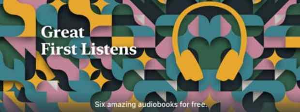 Apple & Audible Release Six Public Domain Audiobooks for Free Audiobook Freebies iBooks