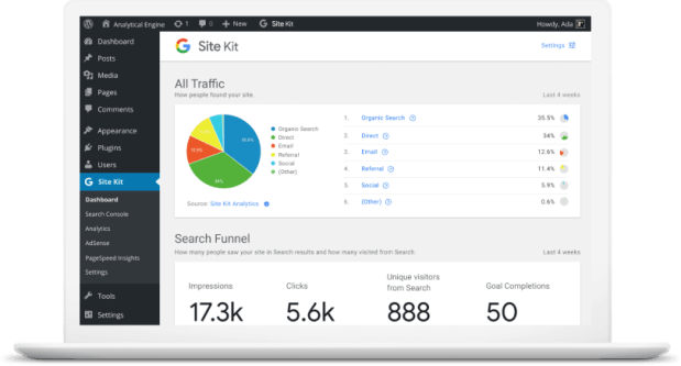 Google Site Kit Will Make It Easier to Integrate Google's Services Into Wordpress Sites Google Web Publishing