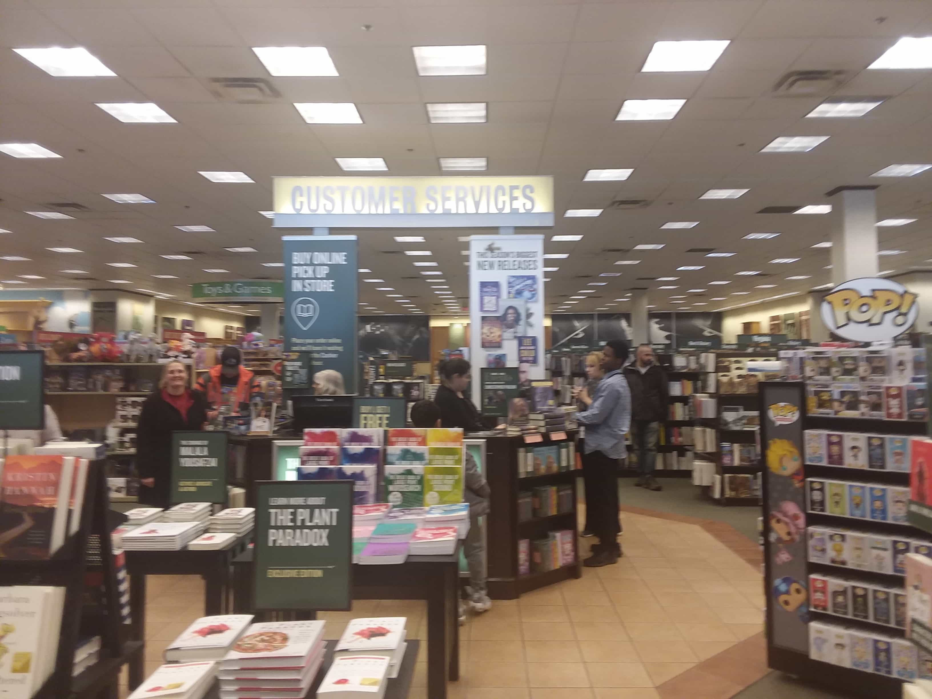 Barnes Noble Removes Nook Signage From Stores The