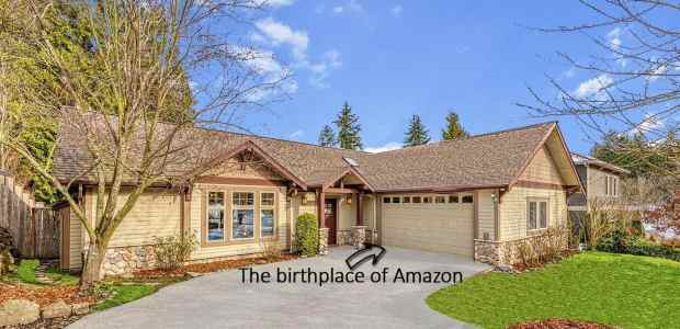 Birthplace of Amazon Up For Sale for $1.5 Million Amazon