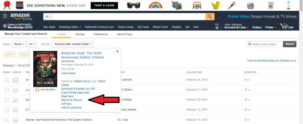How to Return a Kindle eBook You Bought by Mistake Kindle (platform) Tips and Tricks