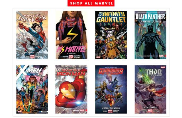 OverDrive Now Sells Marvel Graphic Novels to Libraries and Schools Worldwide Overdrive
