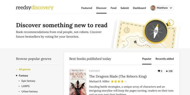 Reedsy Launches a Book Discovery Service Marketing Self-Pub