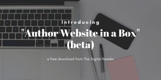 """Introducing """"Author Website in a Box"""" (beta) blog maintenance"""