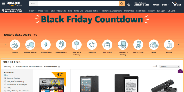 Amazon's Black Friday Kindle Deals Are Now Live - $29 Kindle Fire 7, $79 Kids Kindle Bundle, and More! e-Reading Hardware Fire Kindle