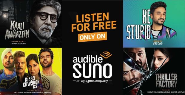 Amazon Launches Audible Suno App in India Amazon Podcast