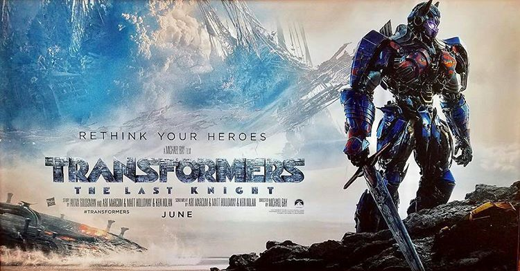 MOVIE REVIEW – TRANSFORMERS: THE LAST KNIGHT