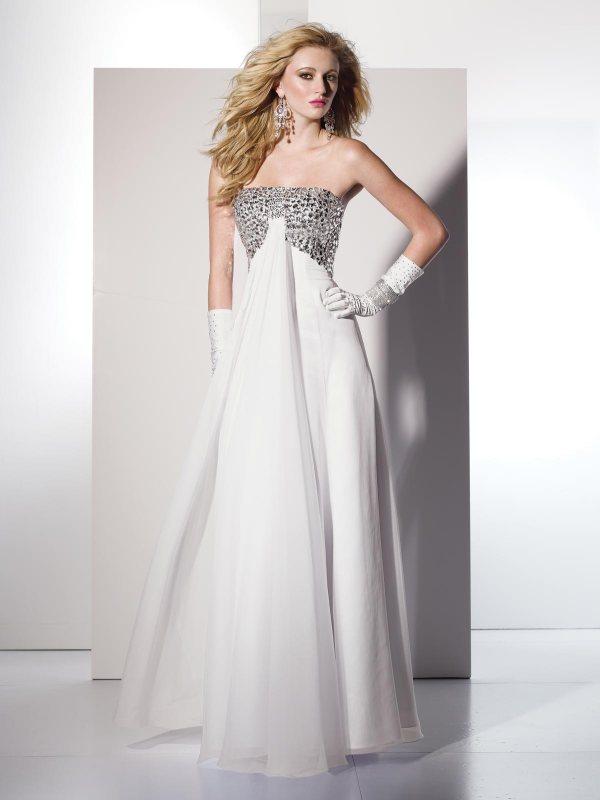 Длинные выпускные платья. Фото обалденных моделей