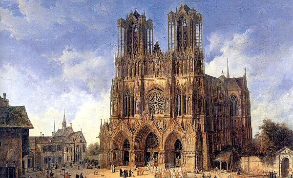 Alles bloß Gotik: Die Kathedrale von Reims