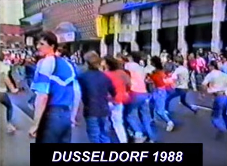 EM 1988: Hooligan-Schlacht in Düsseldorf