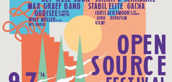 Open Source Festival 2016: Das Line-up