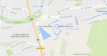 Map: Burg Linn