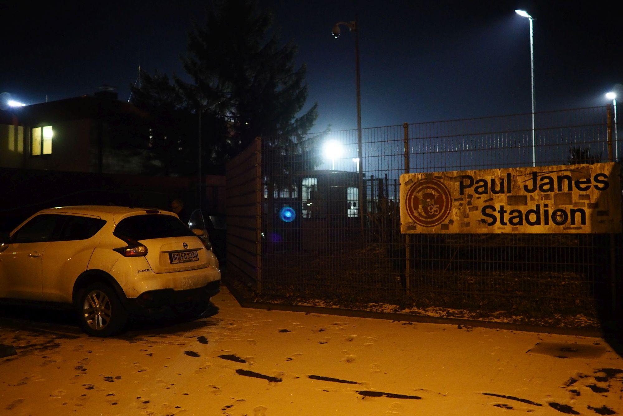 Das legendäre Paul-Janes-Stadion am Flinger Broich